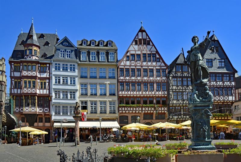 Frankfurt nad Mohanem, Staré Město